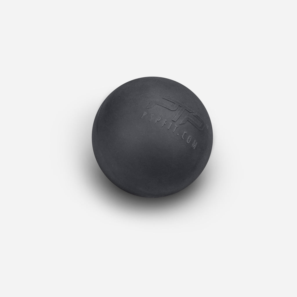 PTP Massage Ball - Firm/Black | Deep Tissue Massage Ball