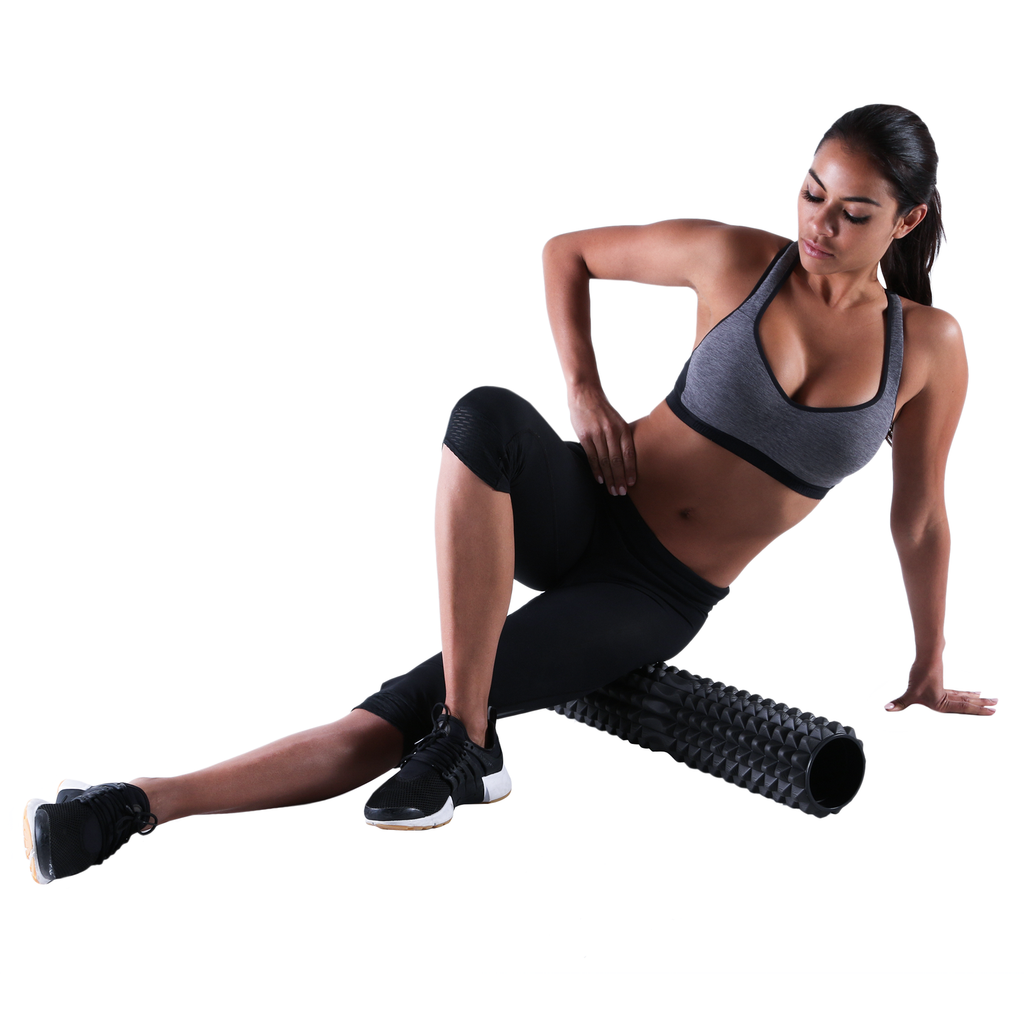 Hip Release with the PTP Large Therapy Roller