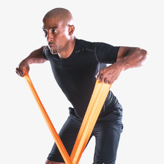 PTP MediBand Back Row Exercise - George Gregan
