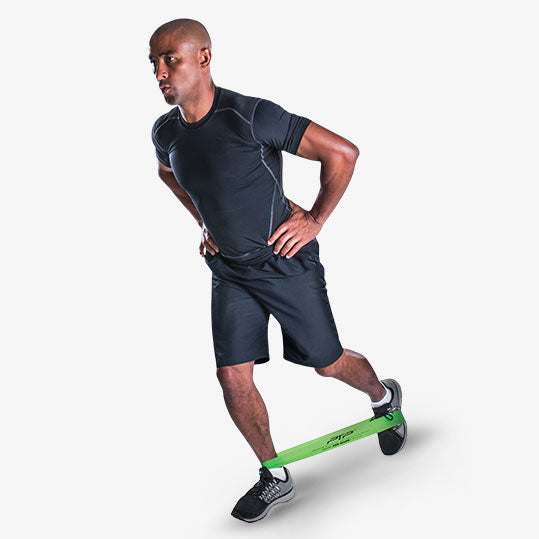 PTP MicroBand Scooter Glute Exercise