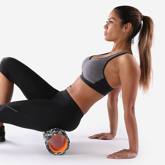 PTP XRoller Black exercise 3 - Hamstring and Glute Release