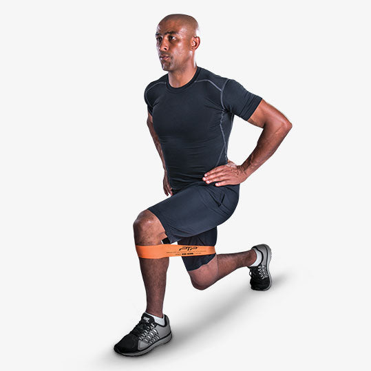 PTP MicroBand Lunge Exercise - George Gregan