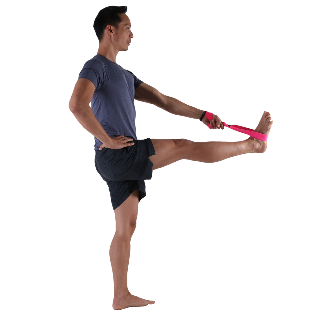 Extended Hand-to-Big-Toe with the Small PTP Yoga 8Loop