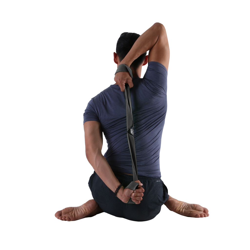 Hero Pose - Yoga Bind with PTP Large Yoga 8Loop