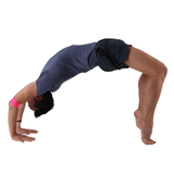 Bridge Pose Using the Small PTP Yoga 8Loop for Shoulder Alignment