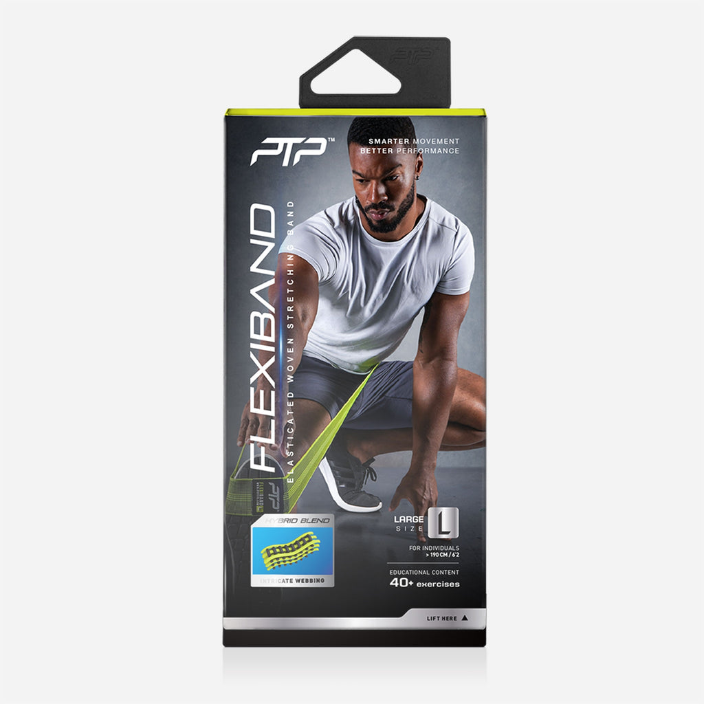 FlexiBand by PTP - For Safe Stretching Within Joint Range of Motion