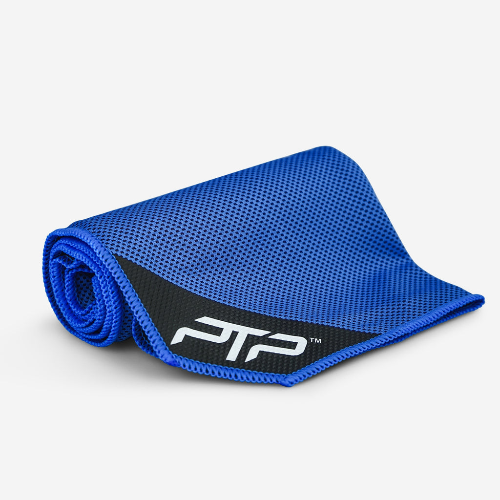 PTP Hyper Cool Towel in Blue - Perfect for all Activities