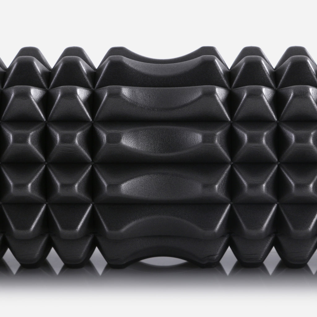 Large foam roller by PTP - The Therapy Roller with Recessed Mid-Section