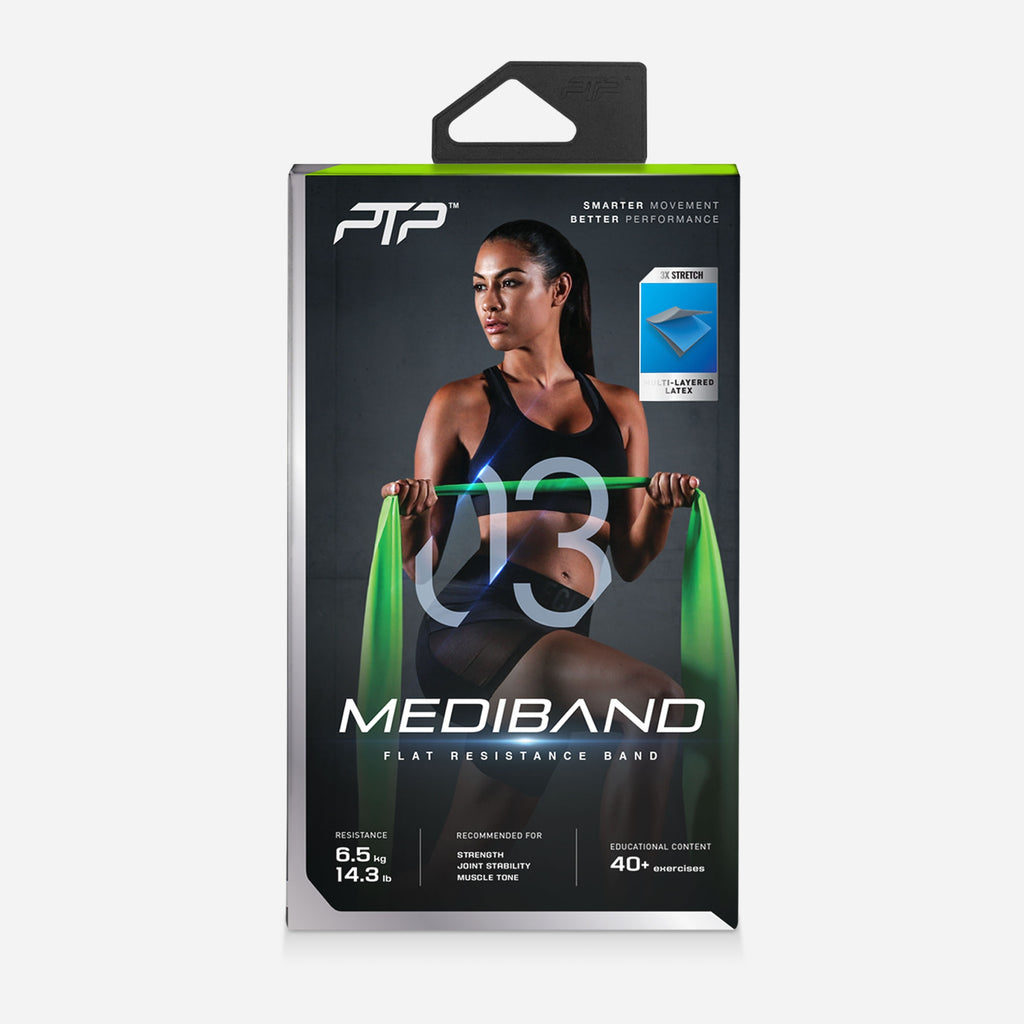 PTP MediBand Green - Pilates Band