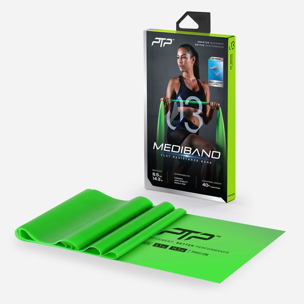 MediBand Medium - Flat Resistance Band