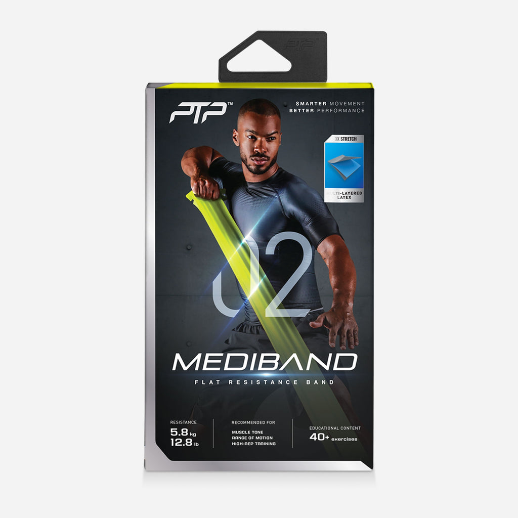 PTP MediBand Lime Packaging