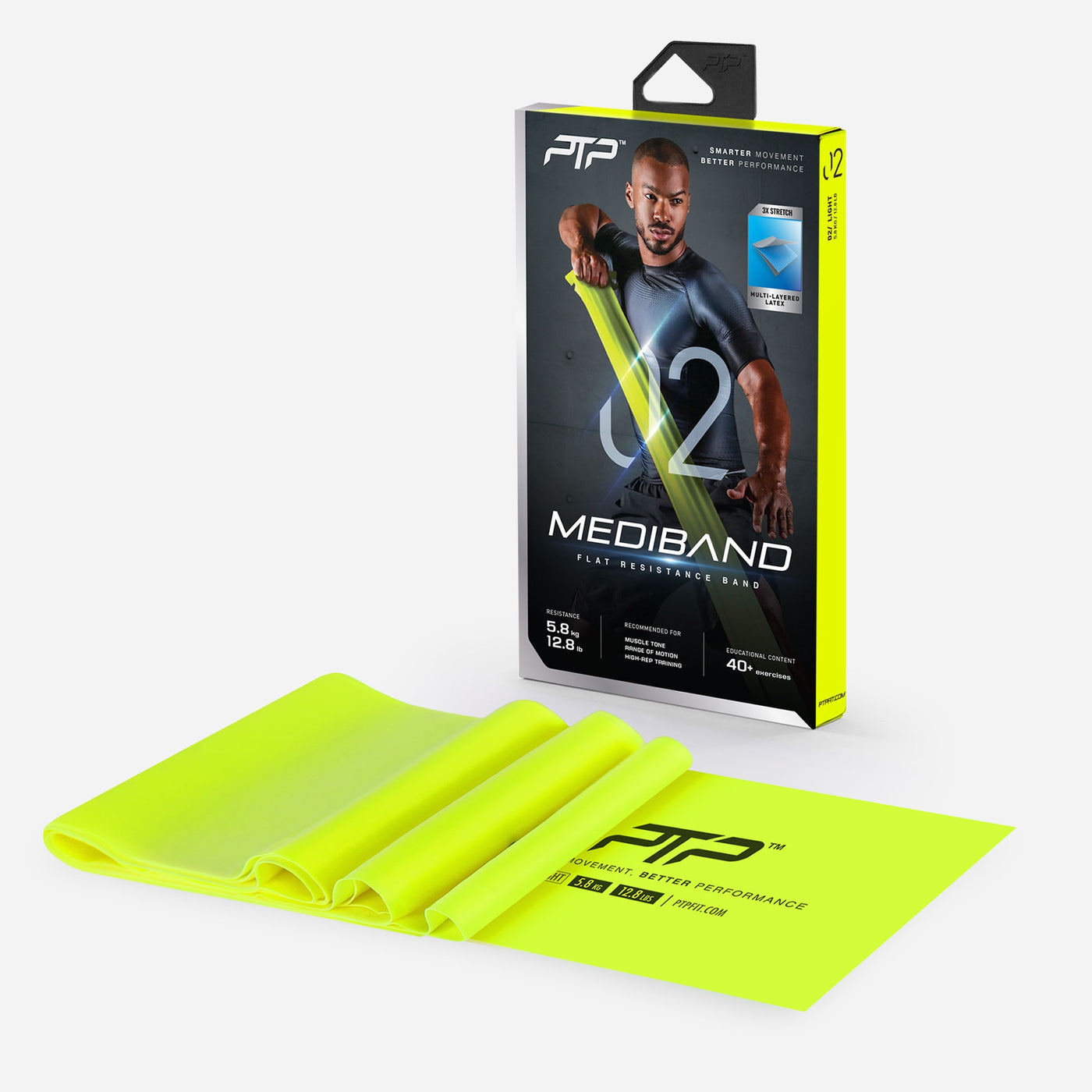 MediBand Light - Flat Resistance Band by PTP