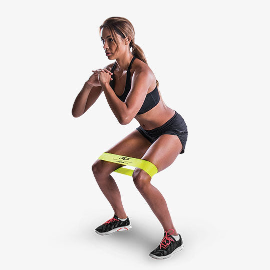 PTP MicroBand Squatted Adductor Stretch Exercise