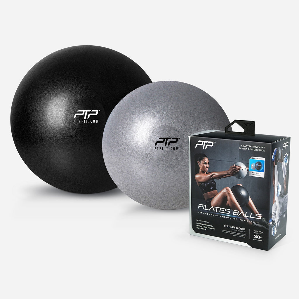 PTP Pilates Balls - Small & Medium - For Core Strength and Balance