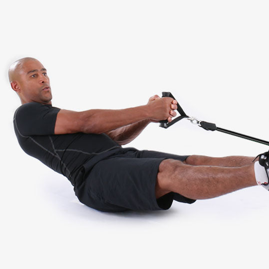 PTP PowerTube Sideline Floating Crossover Ab Exercise
