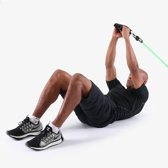 PTP PowerTube Overhead Ab Crunch Exercise