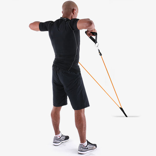 PTP PowerTube Upright Back Row Exercise