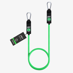 PTP Powertube Green Medium Resistance Tube with Carabiners