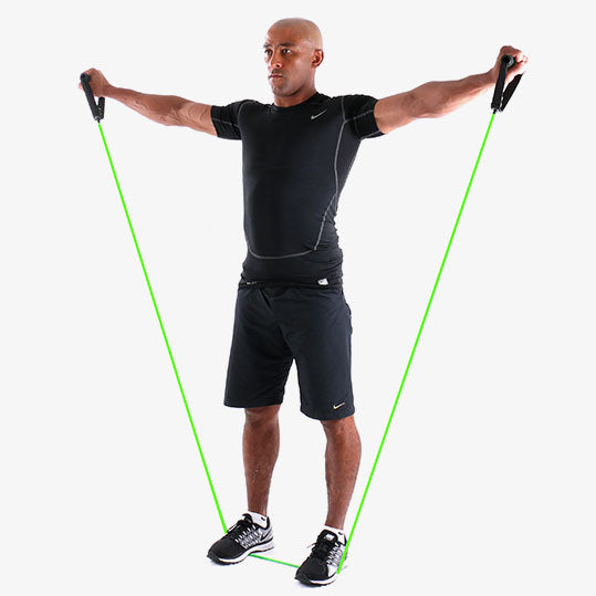 PowerTube+ Lateral Shoulder Raise Exercise