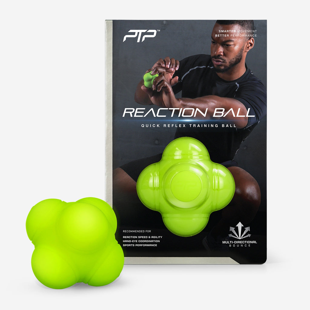 PTP Reaction Ball | Six-Sided Design for Unexpected Bounces