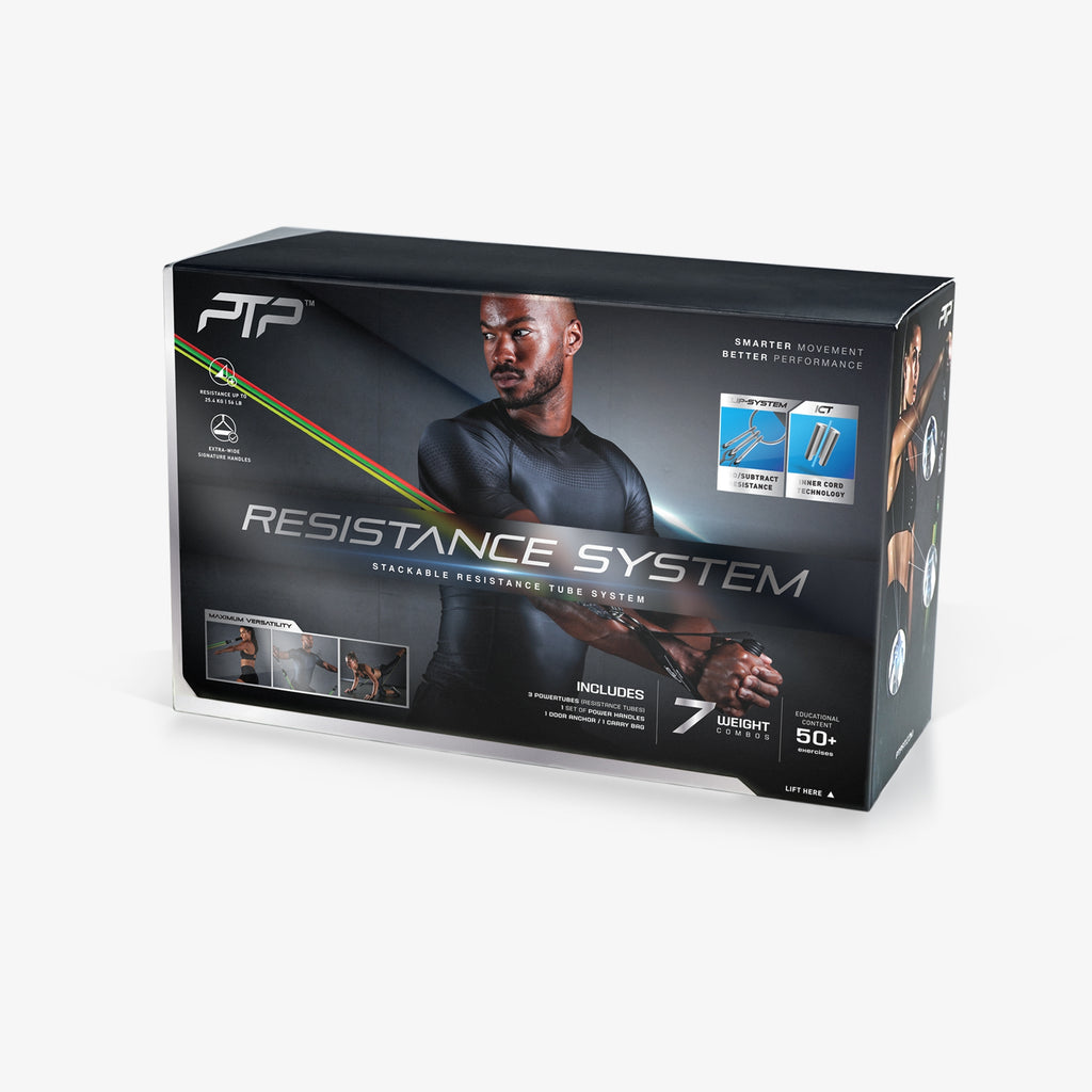PTP Resistance System Packaging
