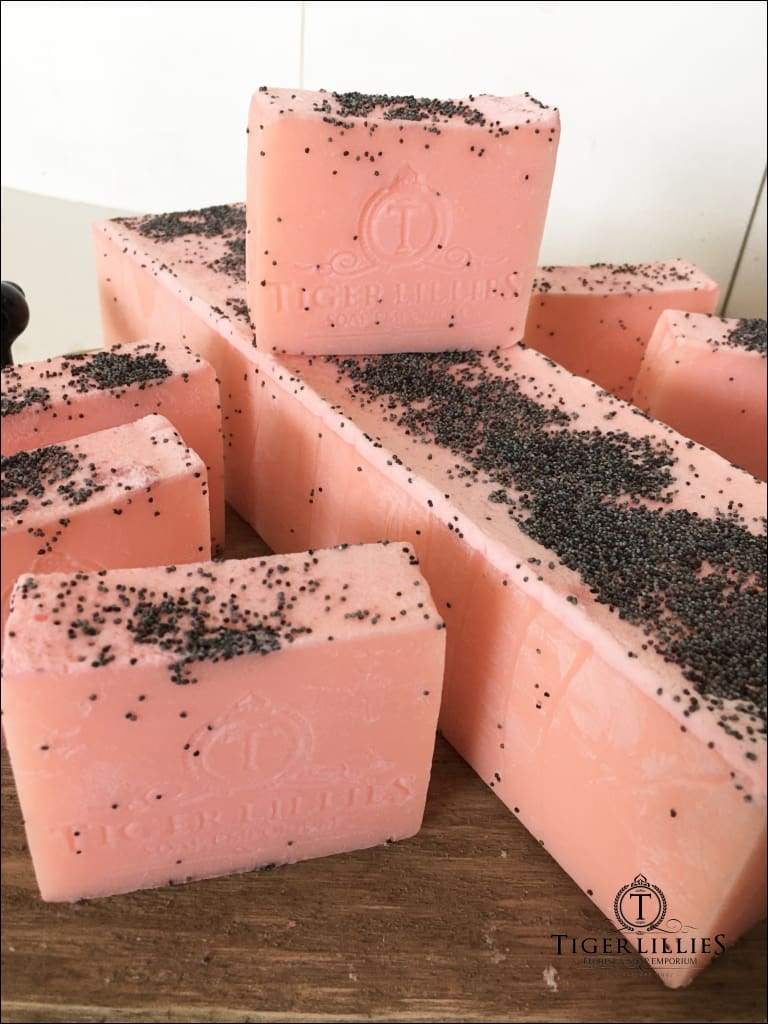 Peach Poppy SOAP (6)