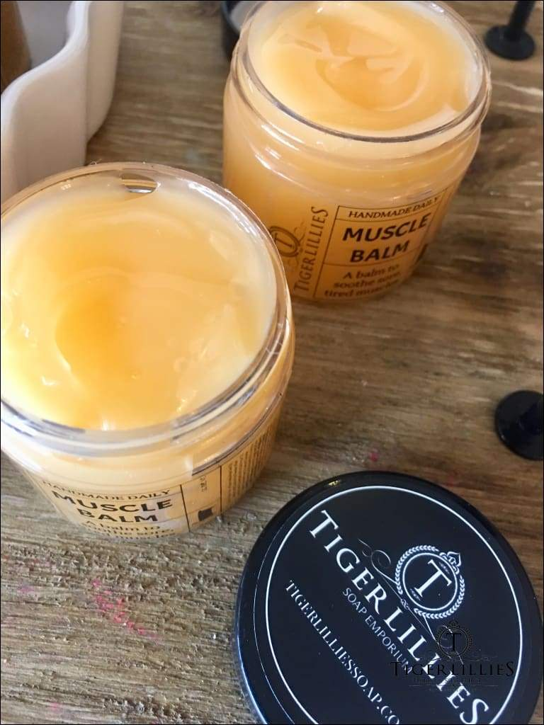 Muscle Balms & Salves