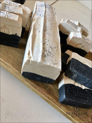 Peppermint Charcoal Soap Soaps