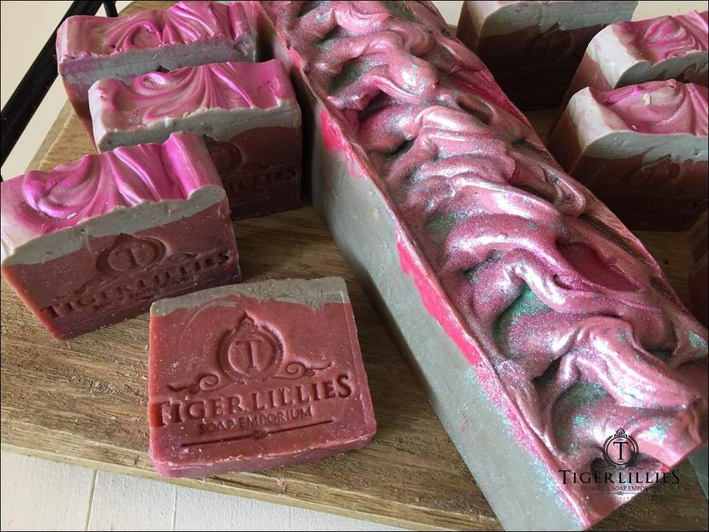 Pistachio Rose Soap Soaps