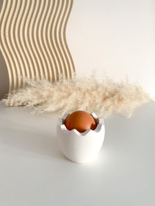 Large Egg Cup - White