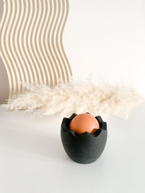 Large Egg Cup - Black