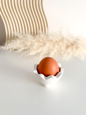 Medium Egg Cup - White