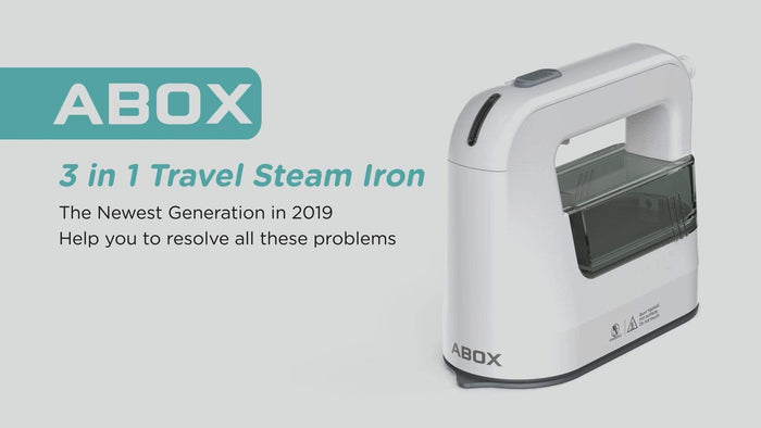 ABOX Launches Portable LS-532A Steam Iron