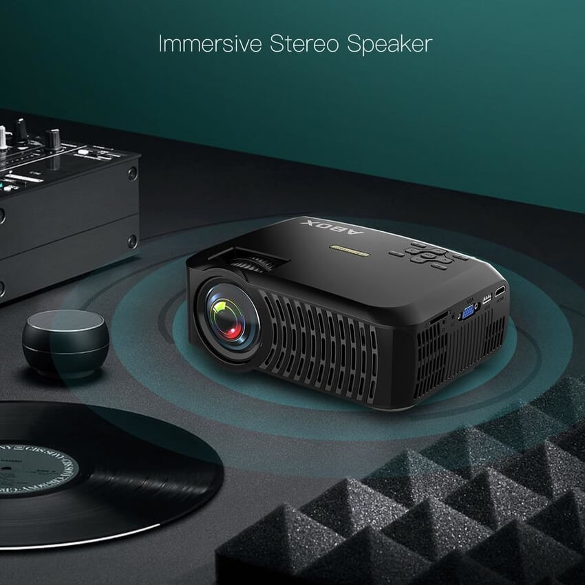 New Arrivals like ABOX's latest A2 LCD Projector