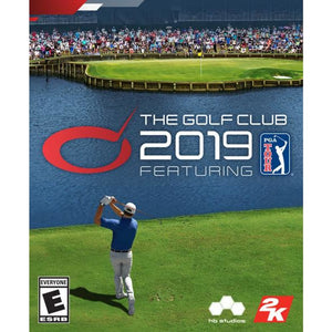 2K The Golf Club 2019 Featuring the PGA TOUR PS4