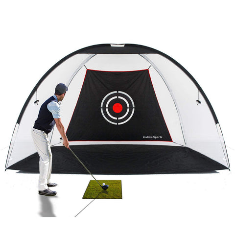 Golf Practice Driving Range Net Training Aid with Target and Carry Bag