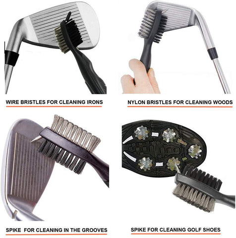 Image of Golf Club & Groove Cleaner Brush