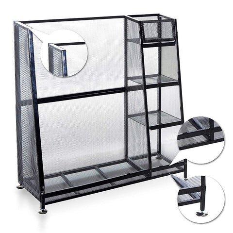 Image of Golf Bag & Equipment Garage Organizer Storage Rack