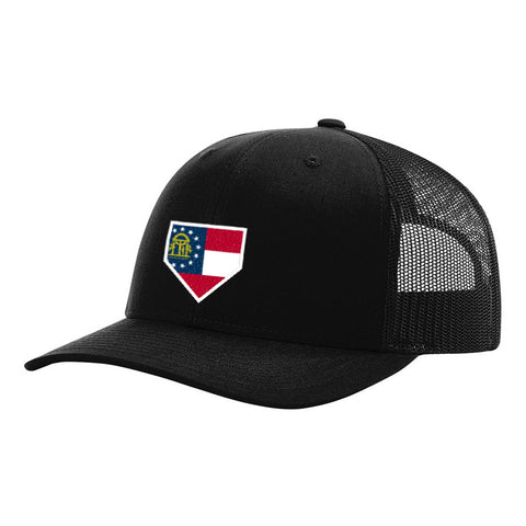 Florida Home Plate Black Hat