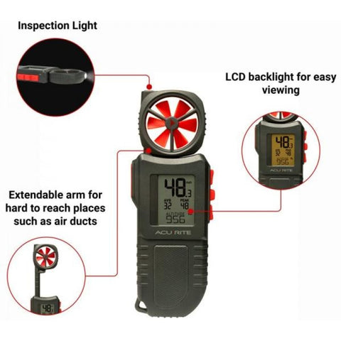 Image of AcuRite Portable Anemometer