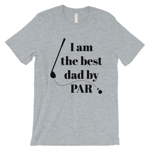 Image of Best Dad By Par Golf Mens Shirt - Apparel & Accessories