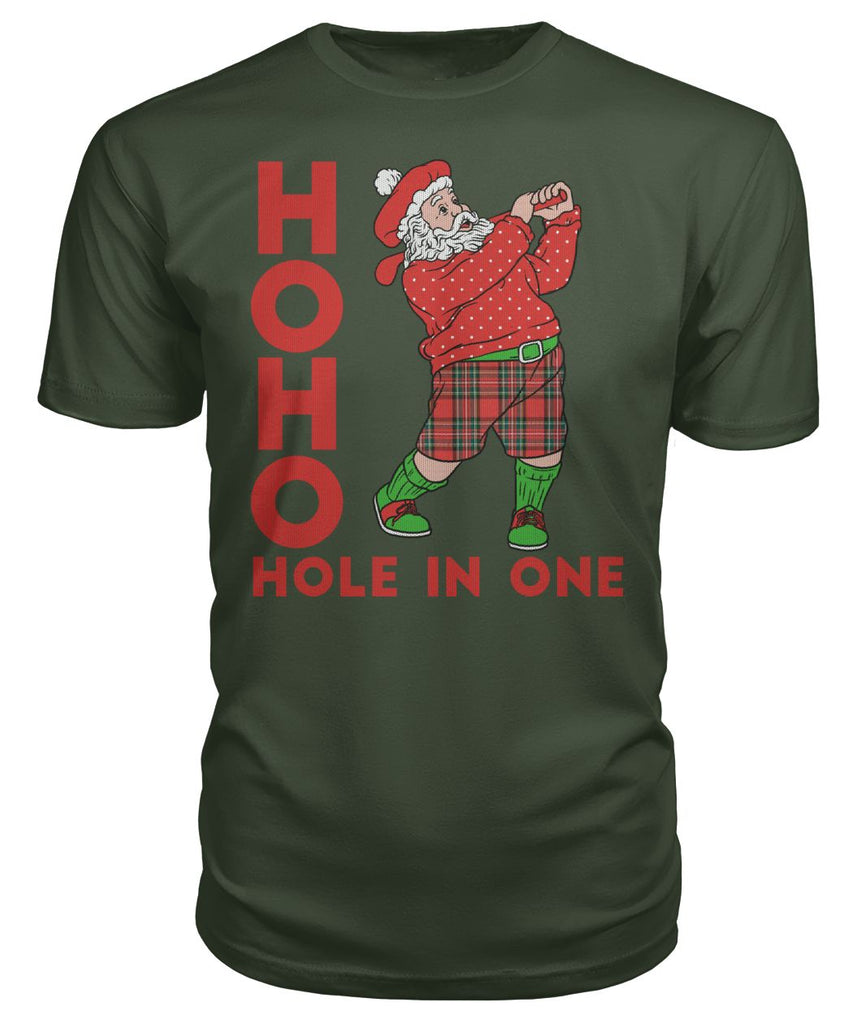 Santa Hole in One Tee