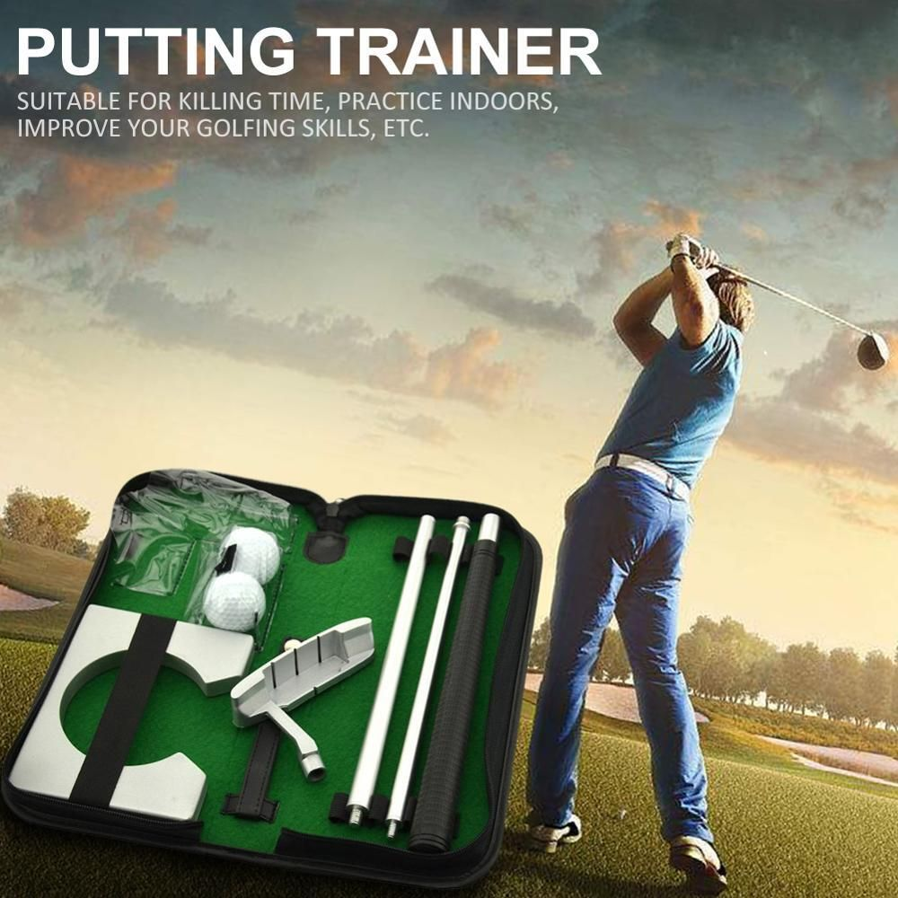 Portable Putting Trainer