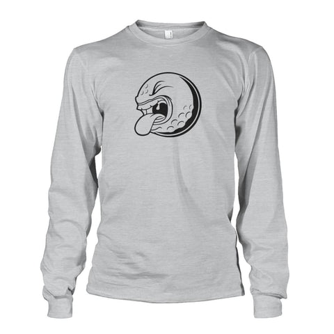 Image of Golf ball Long Sleeve - Ash Grey / S / Unisex Long Sleeve - Long Sleeves