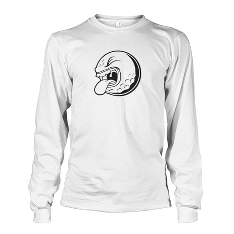 Golf ball Long Sleeve - White / S / Unisex Long Sleeve - Long Sleeves