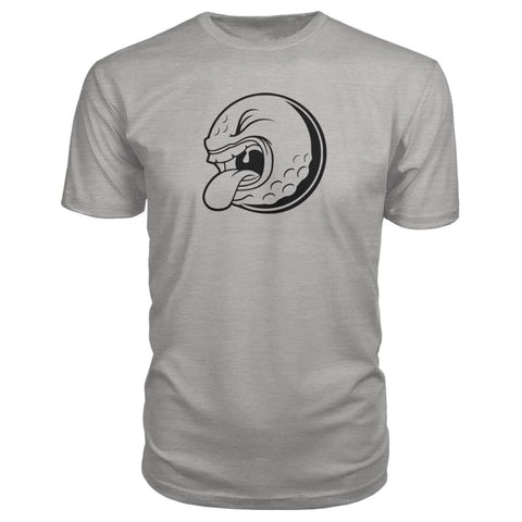 Golf ball Premium Tee - Heather Grey / S / Premium Unisex Tee - Short Sleeves
