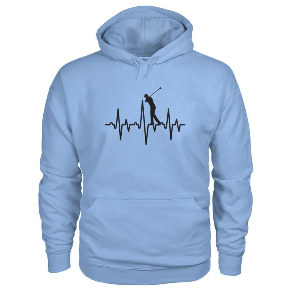One With Golf Hoodie - Light Blue / S / Gildan Hoodie - Hoodies