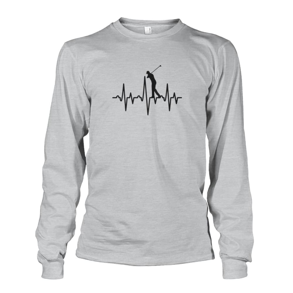 One With Golf Long Sleeve - Ash Grey / S / Unisex Long Sleeve - Long Sleeves
