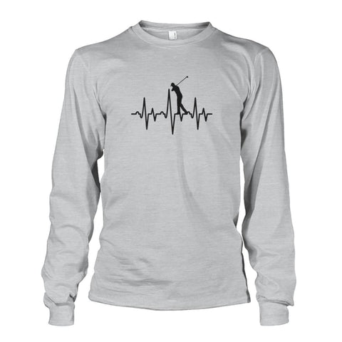 Image of One With Golf Long Sleeve - Ash Grey / S / Unisex Long Sleeve - Long Sleeves