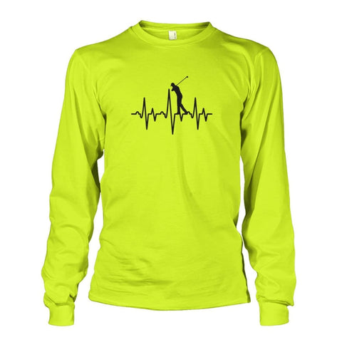Image of One With Golf Long Sleeve - Safety Green / S / Unisex Long Sleeve - Long Sleeves